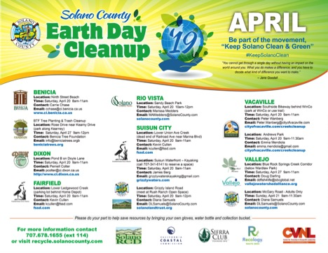 Solano County Earth Day Cleanup